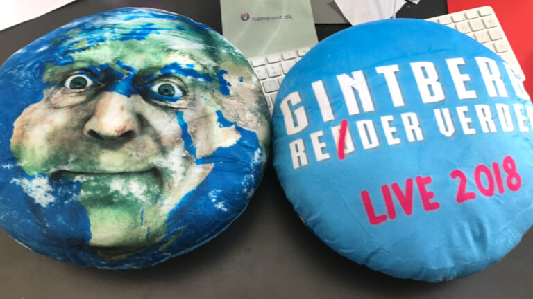 Gintberg pude live 2018